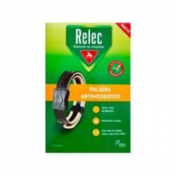 Relec Pulsera Repelente Mosquitos Negra