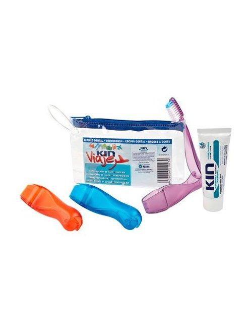 Kin Cepillo Dental Viaje + 1 Pasta