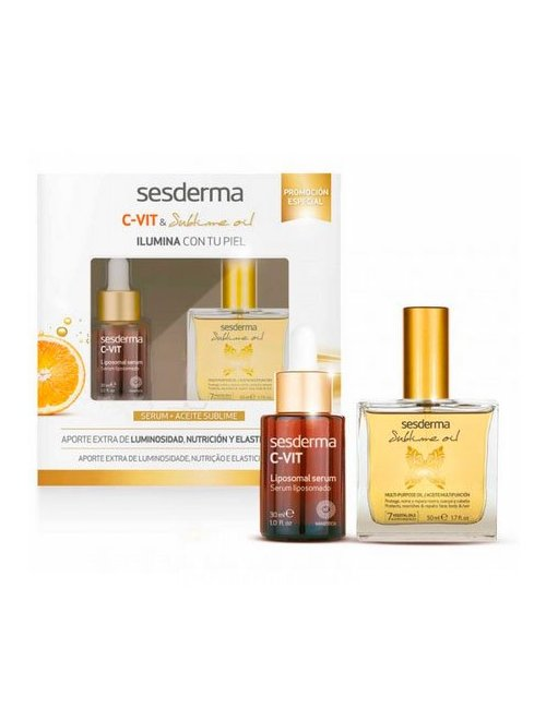 Sesderma C-Vit Pack Serum + Aceite sublime