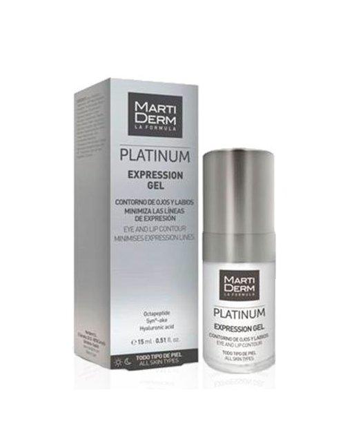 Martiderm Platinum Expression Contorno de Ojos y Labios 15 Ml