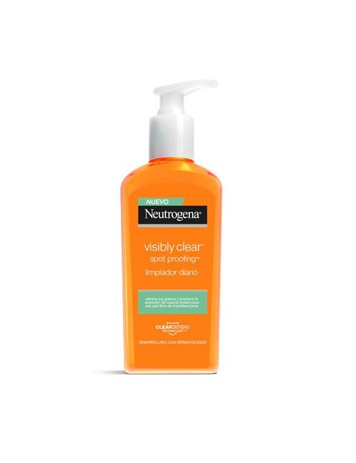 Neutrogena Visibly Clear Limpiador Oil-Free 200 Ml.