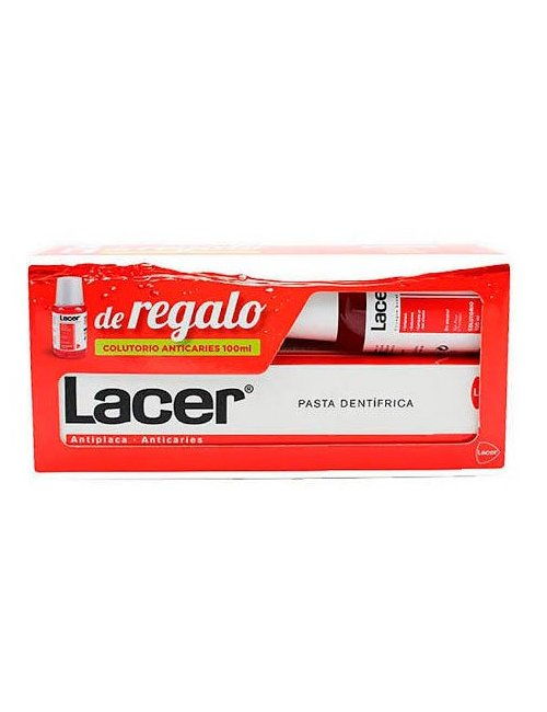 Lacer Pack Pasta de Dientes 125 Ml + Regalo