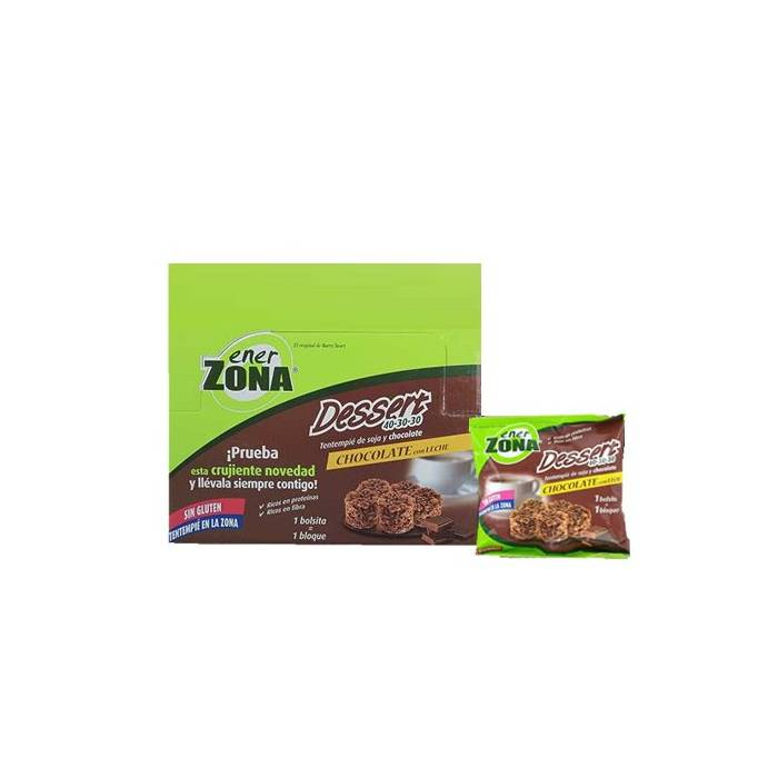 Enerzona Dessert Chocolate con Leche (24 bolsitas)