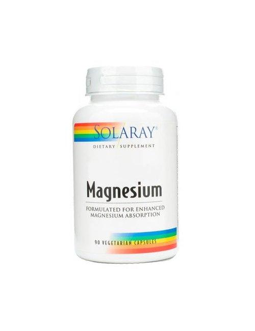 Solaray Magnesio (Citrato de Magnesio) 90 Caps