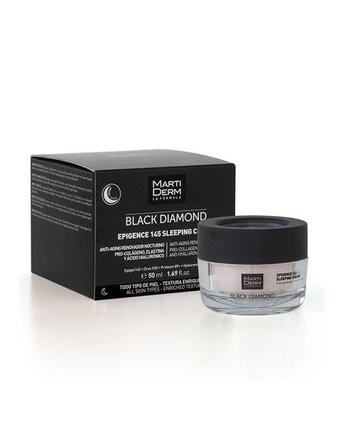 Martiderm Black Diamond Epigence 145 Sleeping Cream 50 Ml