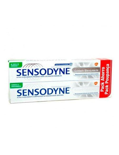 Sensodyne Cuidado Blanqueante Duplo 2x75 Ml.