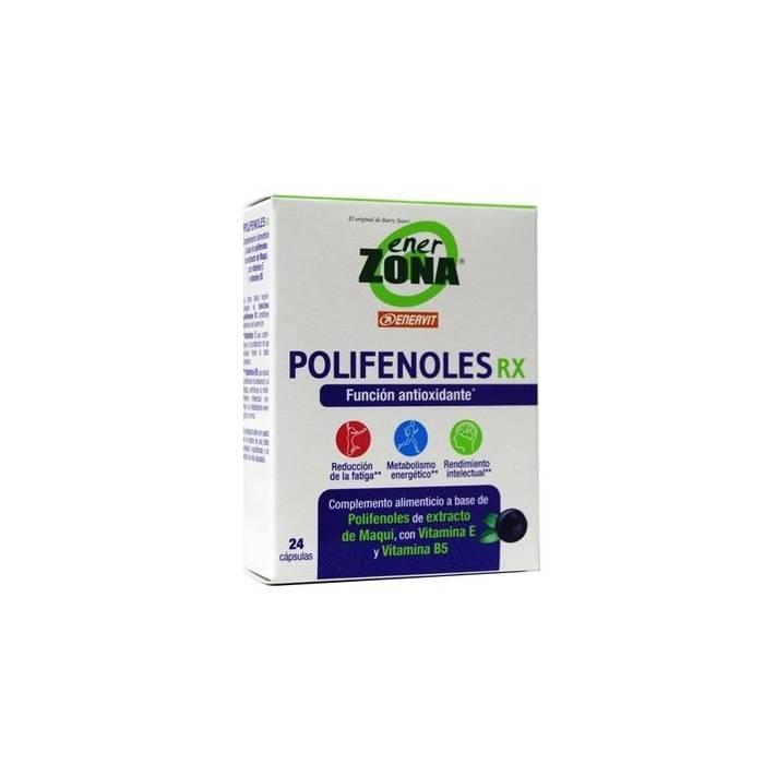 Enerzona Polifenoles RX 24 Cápsulas