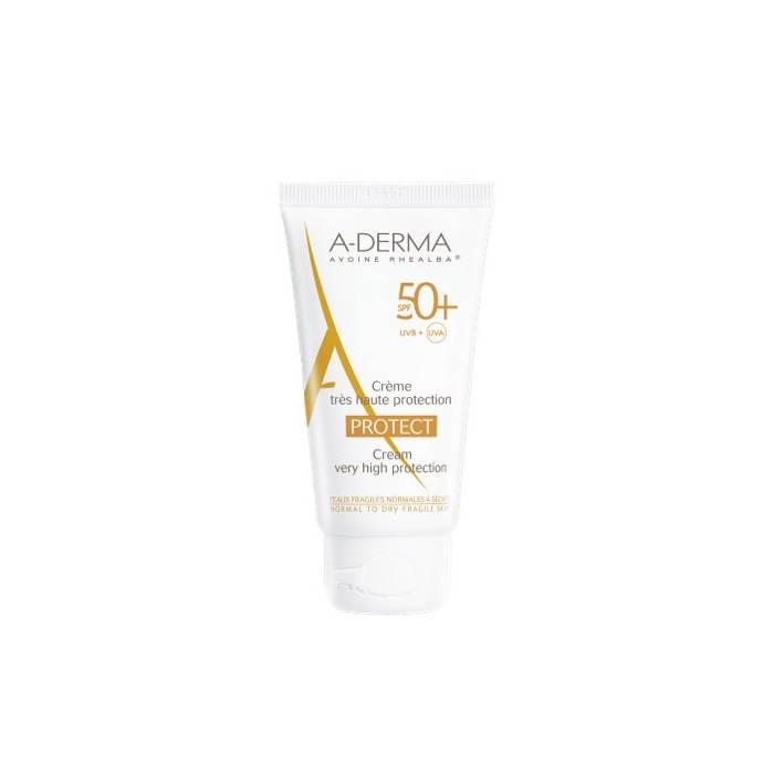 A-Derma Protect Crema Solar 50+
