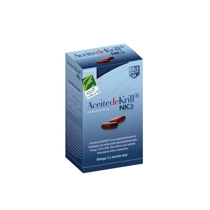 100% Aceite de Krill NKO 40 Perlas