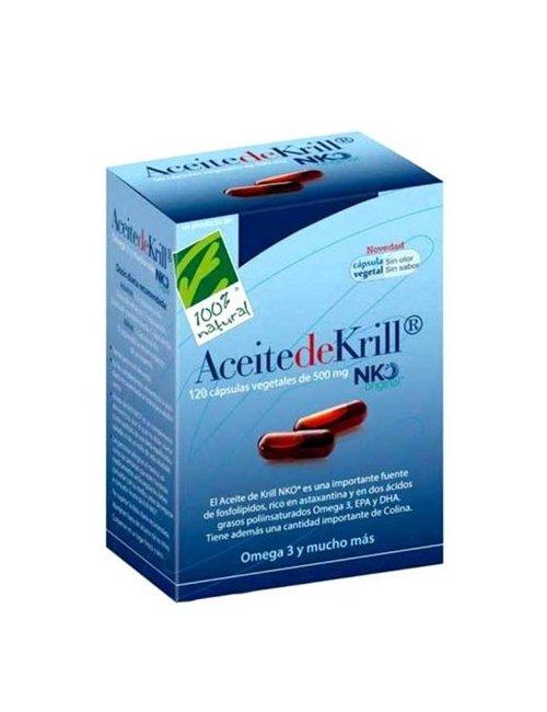 100% Aceite de Krill NKO 120 Perlas