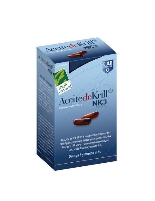 100% Aceite de Krill NKO 80 Perlas