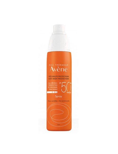 Avene Solar Spray SPF 50+ Cuerpo, 200ml Pieles sensibles