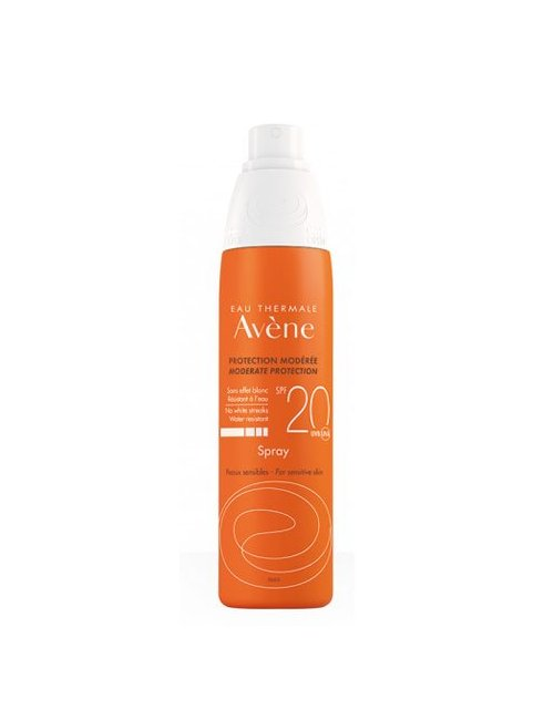 Avene Solar Spray SPF 20 200Ml.