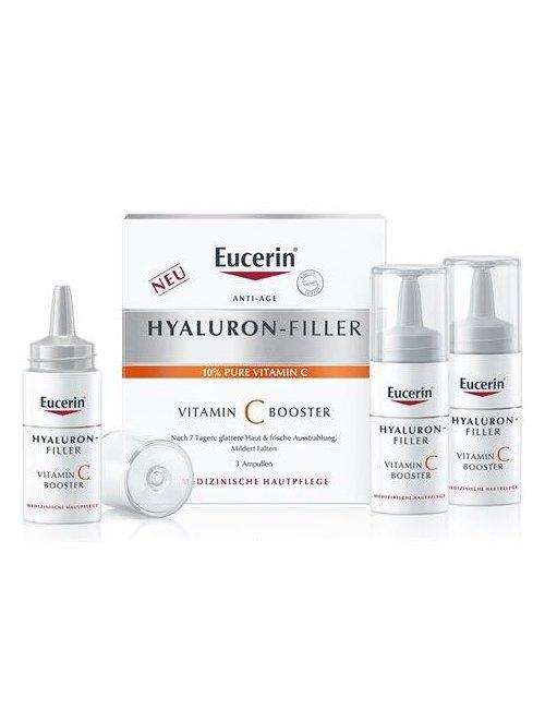 Eucerin Hyaluron Filler Vitamin C Booster 3x8 Ml.