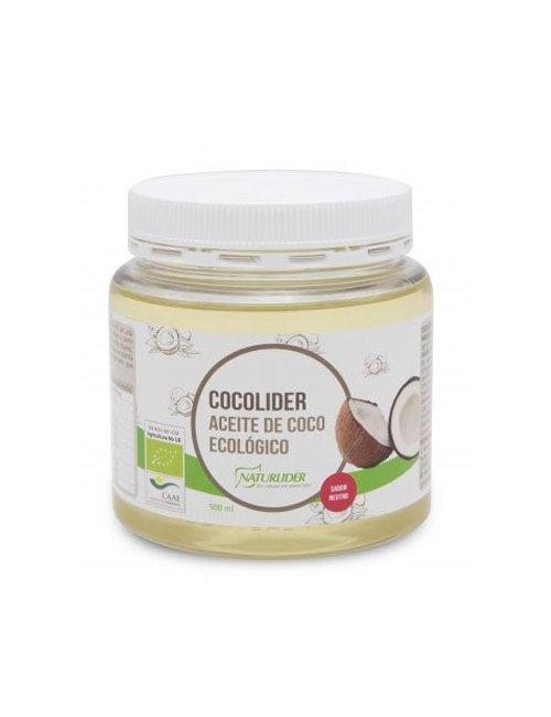 Cocolider Aceite de Coco Bio 500 Ml.