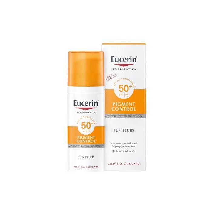 Eucerin Sun Crema Rostro SPF50+ 50Ml.