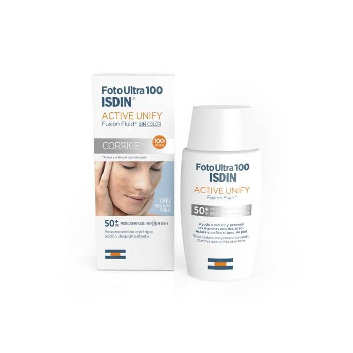 Isdin Foto Ultra Active Unify Fusion Fluid SPF 50+