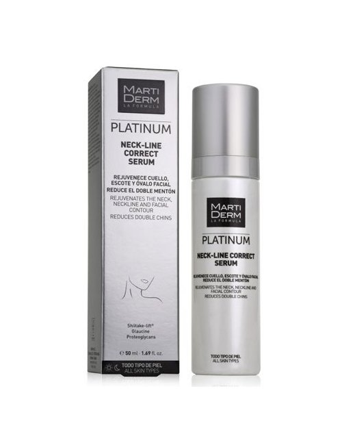 Martiderm Platinum Neck-Line Correct Sérum 50 Ml.