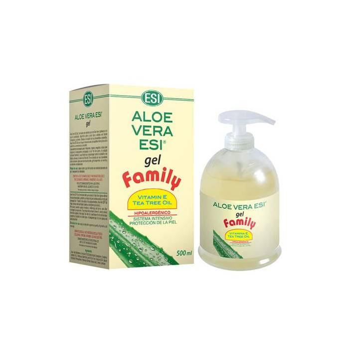 Aloe Vera Gel Family (con árbol del té) 500 ml ESI
