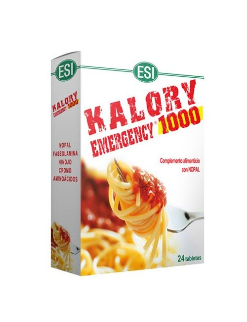 Esi Kalory Emergency 1000 24 Tabletas