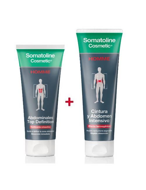 Somatoline DUPLO Hombre 7 Noches + Abdominales Top Definition