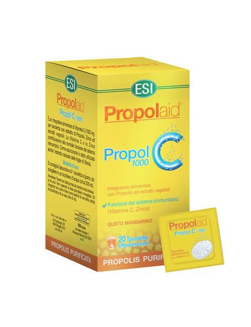 ESI Propolaid Propol C 20 Tabletas Efervescentes