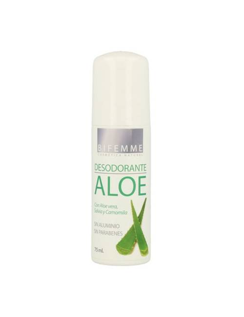 Bifemme Desodorante Roll-On Aloe Vera 75 Ml.