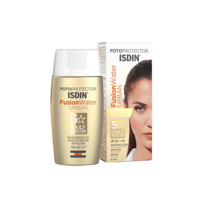 Isdin Fotoprotector Fusion Water Urban SPF30  50 Ml.