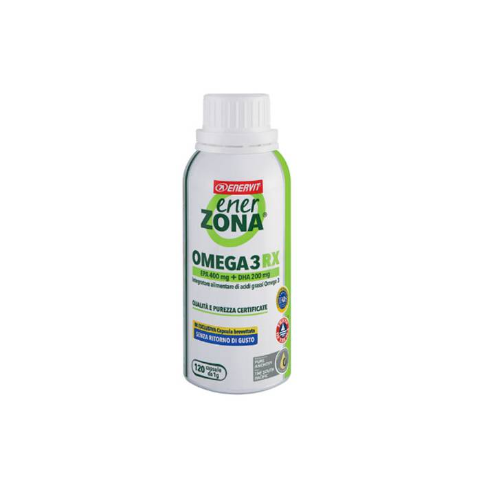 Enerzona Omega 3RX 1g 120 Cápsulas