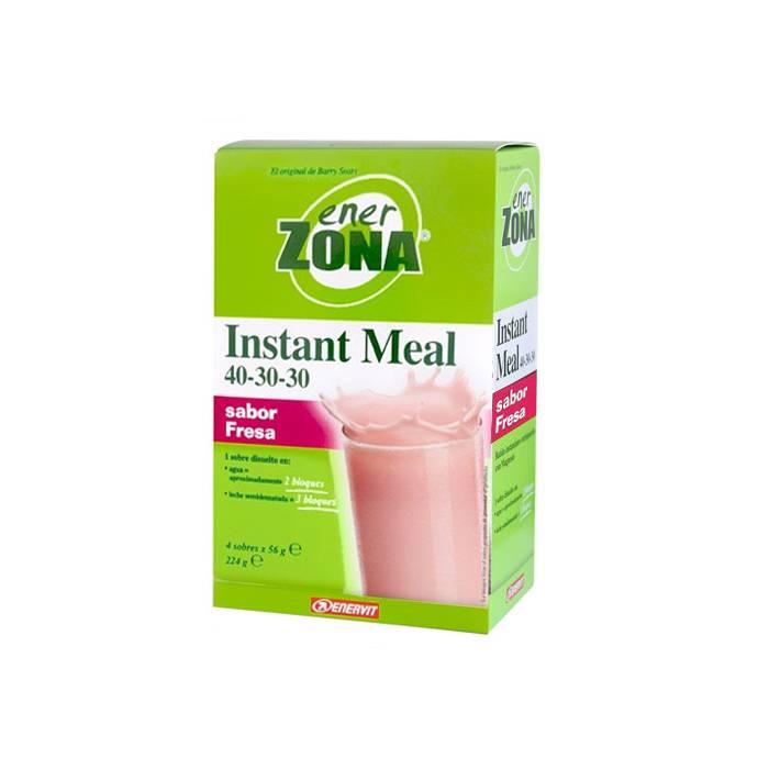 EnerZona Instant Meal Fresa 4 Sobres