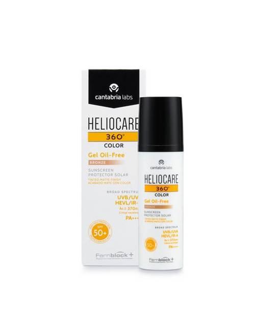 Heliocare 360º Color Gel Oil-Free SPF50+ Bronze