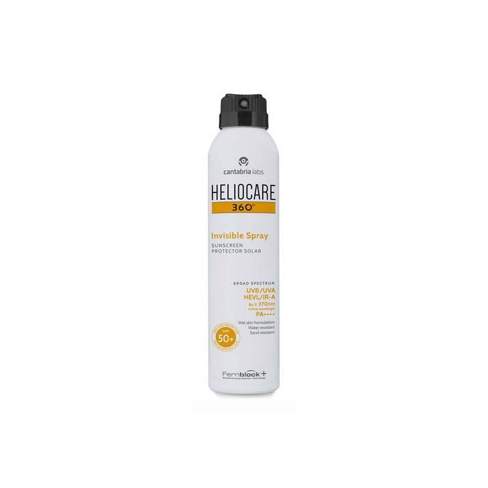 Heliocare 360º Invisible Spray SPF 50+ 200 Ml.