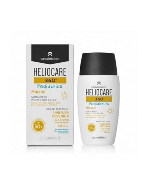 Heliocare 360 Pediatrics Mineral SPF 50+ 50 Ml.