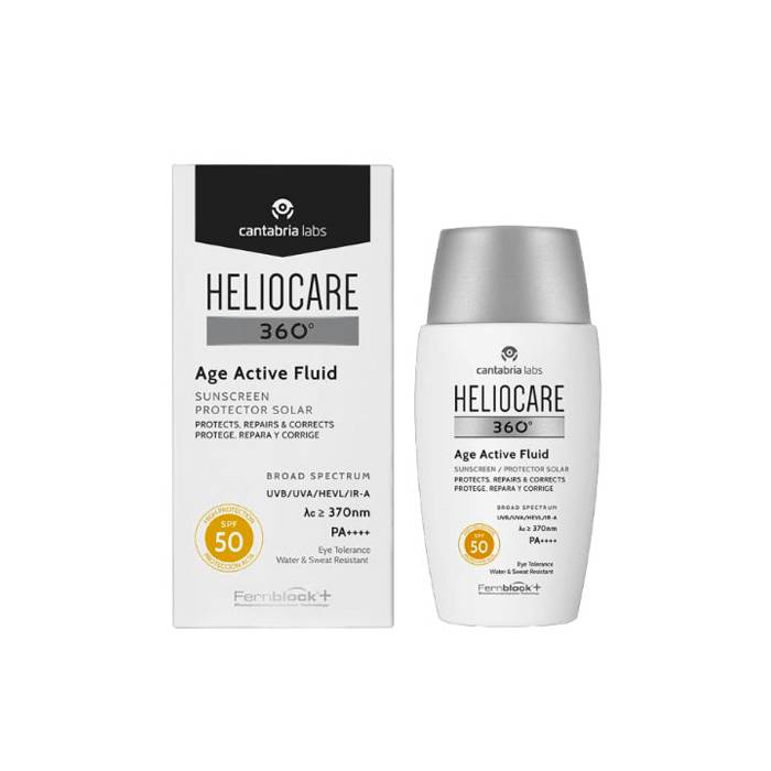 Heliocare 360 Age Active Fluid SPF 50 50 Ml.
