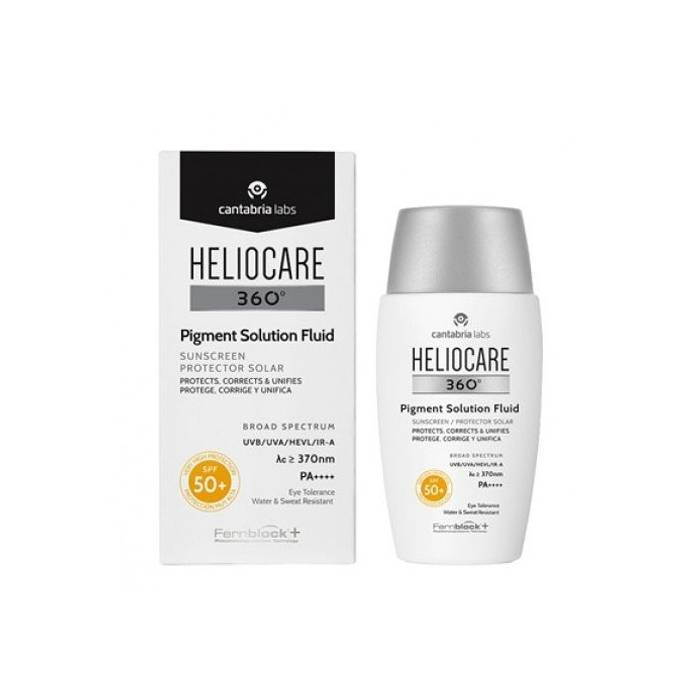 Heliocare 360 Pigment Solution Fluid SPF 50+ 50 Ml.