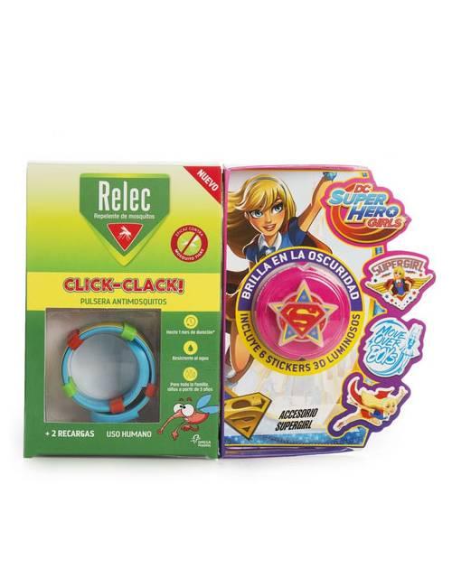 Relec Pulsera Click-Clack SuperGirl
