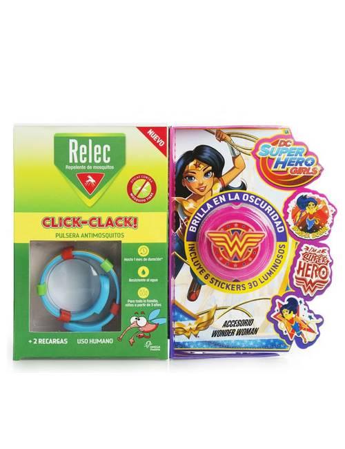 Relec Pulsera Click-Clack Wonder Woman