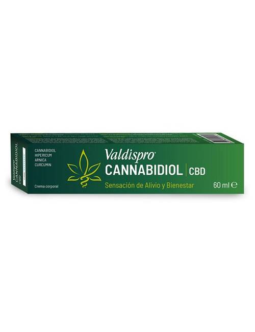 Valdispro Cannabidiol CBD Crema 60 Ml.
