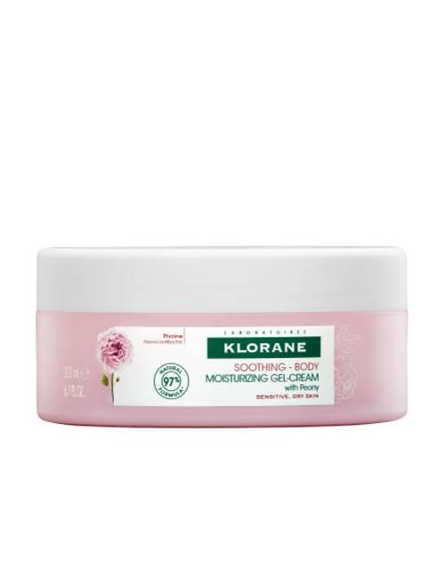 Klorane Gel-Crema Hidratante a la Peonía 200 Ml.