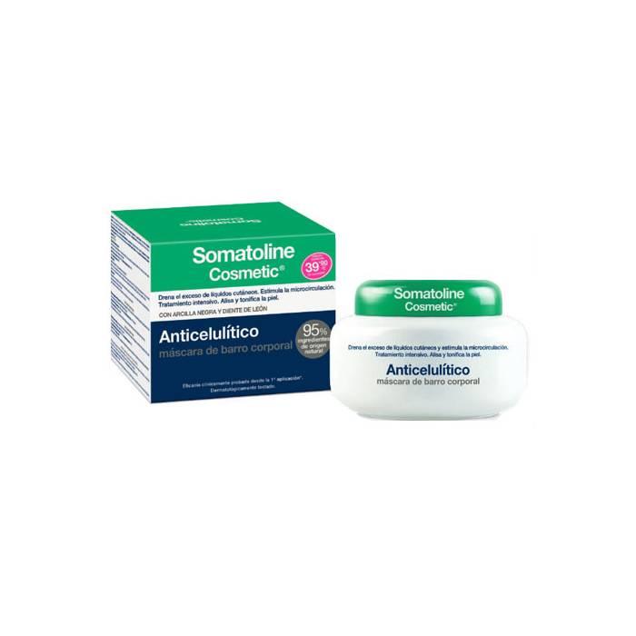 Somatoline Máscara de Barro Anticelulítica 500 G.