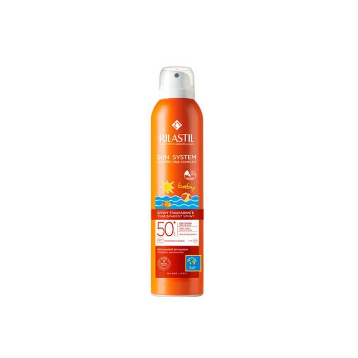 Rilastil Sun System SPF 50+ Baby Transparente Spray 200 Ml.