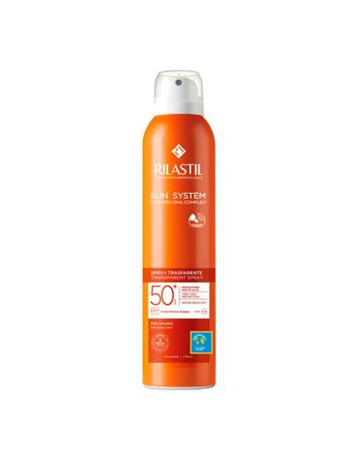 Rilastil Sun System SPF 50+ Spray Transparente 200 Ml.