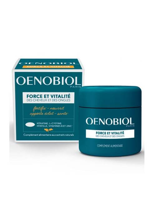 Oenobiol Capilar Fortificante 60 Cápsulas