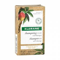 Klorane Champú Sólido al Mango 80 G.