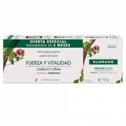 Klorane Keratin Tratamiento Anticaida 3 Meses